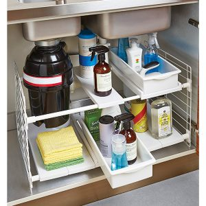 Bathroom Organizing Under cabinet storage