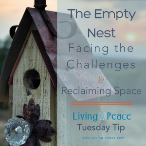Empty Nest, Reorganizing Space