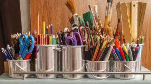 3 Easy Ways to Organize Art Supplies