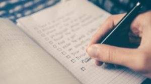 Beyond the TO-Do List: The Checklist
